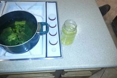 Boiling broccoli and decided to drink the juice...a tip I got :-) #vitamins #healthy #lifestyle #herbalife taste like soup