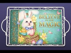 Easter Magic Tole and Decorative Painting by Patricia Rawlinson - YouTube