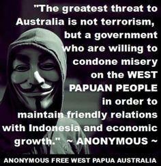 Australian Survival and Preppers..: West Papua Disgrace!