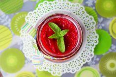 CYKORIA-dżem-z-rabarbaru Strawberry, Fruit, Food, Meal, The Fruit, Essen, Strawberries, Hoods, Meals