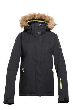 Roxy Women's Jet Ski Solid Faux Fur Jacket
