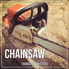 High Desert Chainsaw Sound Effects library: https://www.asoundeffect.com/sound-library/high-desert-chainsaw/
