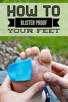 Make sure your feet are blister free on your next hiking, backpacking or camping adventure!