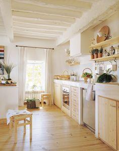 Las 9 cocinas de madera más cálidas