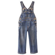 Genuine Kids from OshKosh Infant Toddler Boys Overalls- the only pants that stay on!
