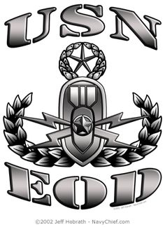 us navy eod.. My daddy is a badass