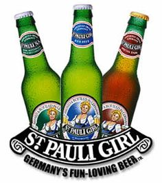 St. Pauli Girl - If there's one thing the Germans do right it's they brew a fine beer!
