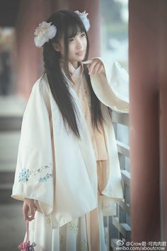 Traditional Chinese hanfu photography.