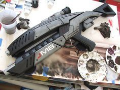 Volpin Props: Mass Effect M8 Avenger Assault Rifle