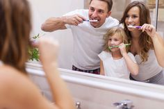 Good #dental practices start at home. Help your child keep smiling brightly by making #tooth_brushing an activity for the whole family. This ensures your child not only brushes his or her teeth but has fun doing so.