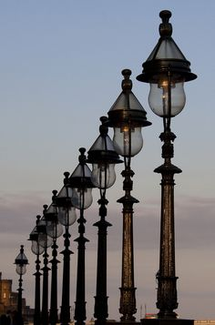 Street Lamps 4   Flickr - Photo Sharing!