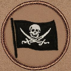 Pirate Calico Jack Patrol Patch (#167)