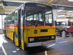 Saurer Postbus 1980 Swiss Cars, Post Bus, Museum, Trucks, Busses, Public Transport, Transportation, Classic Cars, Automobile