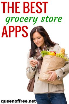 The BEST grocery store apps to save money every single time you shop. Plus they are absolutely FREE.