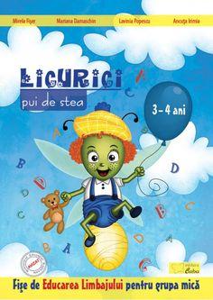 Licurici pui de stea - Educarea Limbajului pentru 3-4 ani