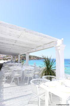 Cotton Beach Club, para perderse entre sus blancos #beachclub #ibiza #cottonbeachclub