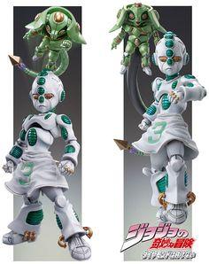 Figure Super Action Statue 56.Soft /& Wet Hirohiko Araki Specify Color Ver