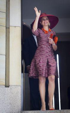 Queen Maxima Photos - King Willem-Alexander and Queen Maxima of the Netherlands Visit Former Mining Region - Zimbio