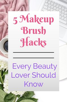 Makeup Brush Hacks that Every Beauty Lover Needs to Know! These are some of the BEST beauty secrets because makeup brushes are such an important tool in our routine that can either help... or hurt our regimen and he appearance of our skin!