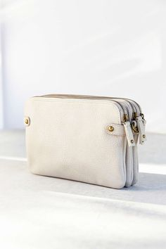 Silence + Noise North Convertible Triple-Zip Clutch