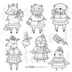 45% Off Spring Sale: use code: SUNSHINE  This is a cute spring animals clip art illustration set. Perfect for digital stamping, coloring, card making, planner stickers, diy sticker sheets, embroidery patterns, fabric, scrapbooking, teachers and more!  Youll get:  8 Hand Drawn Spring and Easter Woodland Animal Illustrations  Included:  Raccoon Illustration  Fox Illustration  Deer Illustration  Bear Illustration  Owl Illustration  Bird Illustration  + more...  Format:  PNG files (300 ppi…
