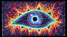 Psychedelic art // third eye