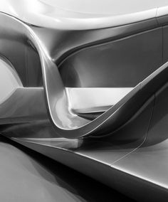 Futuristic Architecture, Zaha Hadid. Ivorypress exhibition #5 by Ximo Michavila on Flickr.