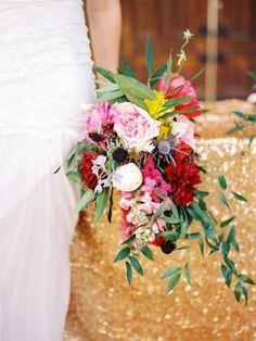 #bouquet  Photography: Chelsea Scanlan Photography - chelseascanlan.com  Read More: http://www.stylemepretty.com/2013/10/08/jewel-tone-inspiration-shoot-from-chelsea-scanlan-bon-wed/