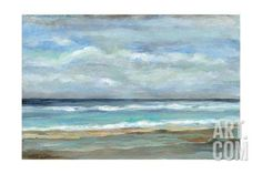Seashore Landscapes Art Print - 61 x 41 cm Framed Artwork, Wall Art Prints, Famous Abstract Artists, Frames For Canvas Paintings, Affordable Wall Art, Famous Art, Landscape Art, Landscape Posters, Cool Posters
