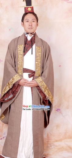 Ancient Chinese Qing Dynasty Prince Costume Complete for ...