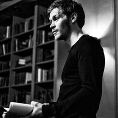 Joseph Morgan photographed by Chris Grismer