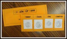 cute coin flip book from Today in First Grade! Classroom Routines, Math Classroom, Kindergarten Math, Classroom Ideas, Kids Math, Preschool, Teaching Money, Teaching Math, Teaching Ideas