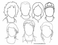cool portraits drawing page.