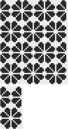 Risultati immagini per geometric filet crochet chart Filet Crochet Charts, Knitting Charts, Knitting Stitches, Knitting Designs, Knitting Patterns, Cross Stitch Designs, Cross Stitch Patterns, Mochila Crochet, Tapestry Crochet Patterns