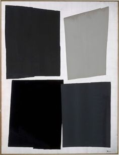 在 EXISTENCE / 1950×1500mm / 墨、銀泥、胡粉、銀箔、麻布 Sumi,Silver paint,Paris White,Silver…