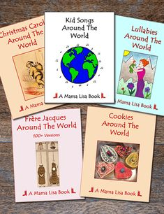 Children's songs and nursery rhymes from all over the globe presented both in English and their native languages. Many include sound clips and sheet music. Craft Activities For Toddlers, French Kids, 100 Songs, Birthday Songs, Kids Songs, Nursery Rhymes, World, Books, Sound Clips