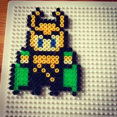Loki hama beads by thethuss
