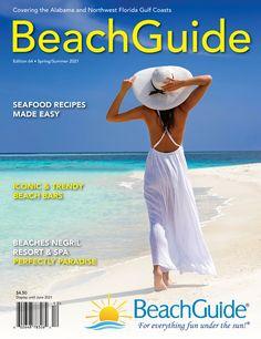 BeachGuide Magazine, Spring / Summer 2021 (Pre-order by Feb. 10 for Fr – shop.beachguide.com Orange Beach, White Sand Beach, Jamaica Resorts, Fort Walton Beach, Pensacola Beach, Negril, Beaches In The World, Panama City Beach, Beach Bars