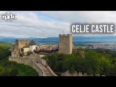 Celje Old Castle - Celjski Grad - Drone Video The Endeavour, Dji Phantom 4, Tourist Information, Monument Valley, 19th Century, Castle, Old Things, Tower, Mansions