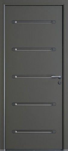 Porte aluminium porte entree bel 39 m contemporaine for Porte de garage bel m