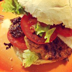 Kipburger met tonijnsaus - pollo tonnato