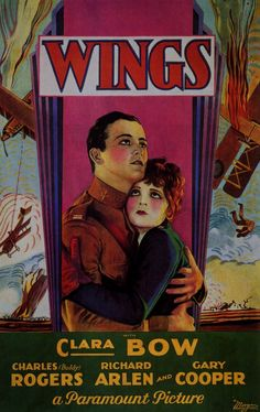 """1927'8 - Best picture- """"Wings"""""""