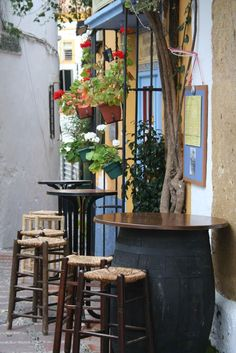 Bar en Málaga.
