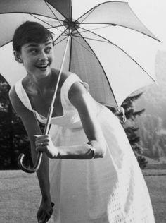 Audrey Hepburn Smiling