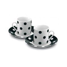 Espresso Cups Set Saucers Coffee Machine Mugs Kitchen Home Appliances Tools Tins