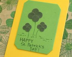 Fuzzy Shamrock Craft for St. Patrick's Day | Make and Takes