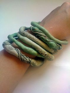 organic bangles...by sonagrig