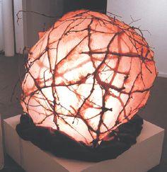 "Bonnie Ferrill - Natural Sculpture ""womb"" So beautiful in that natural way i love!"