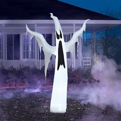 Airblown Inflatable Draped Ghost. #ghost #halloween