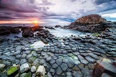Giants Causeway Beach, Ireland